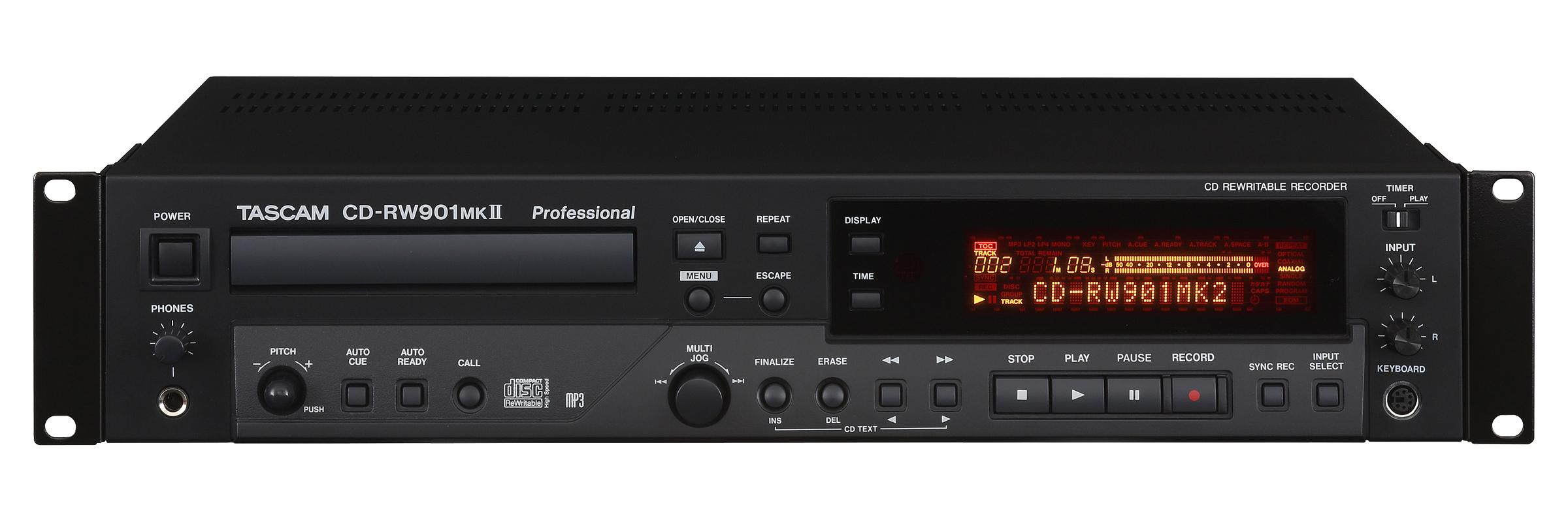 Tascam Cd Rw901 Mk2 Deutsch Digital Audio Service
