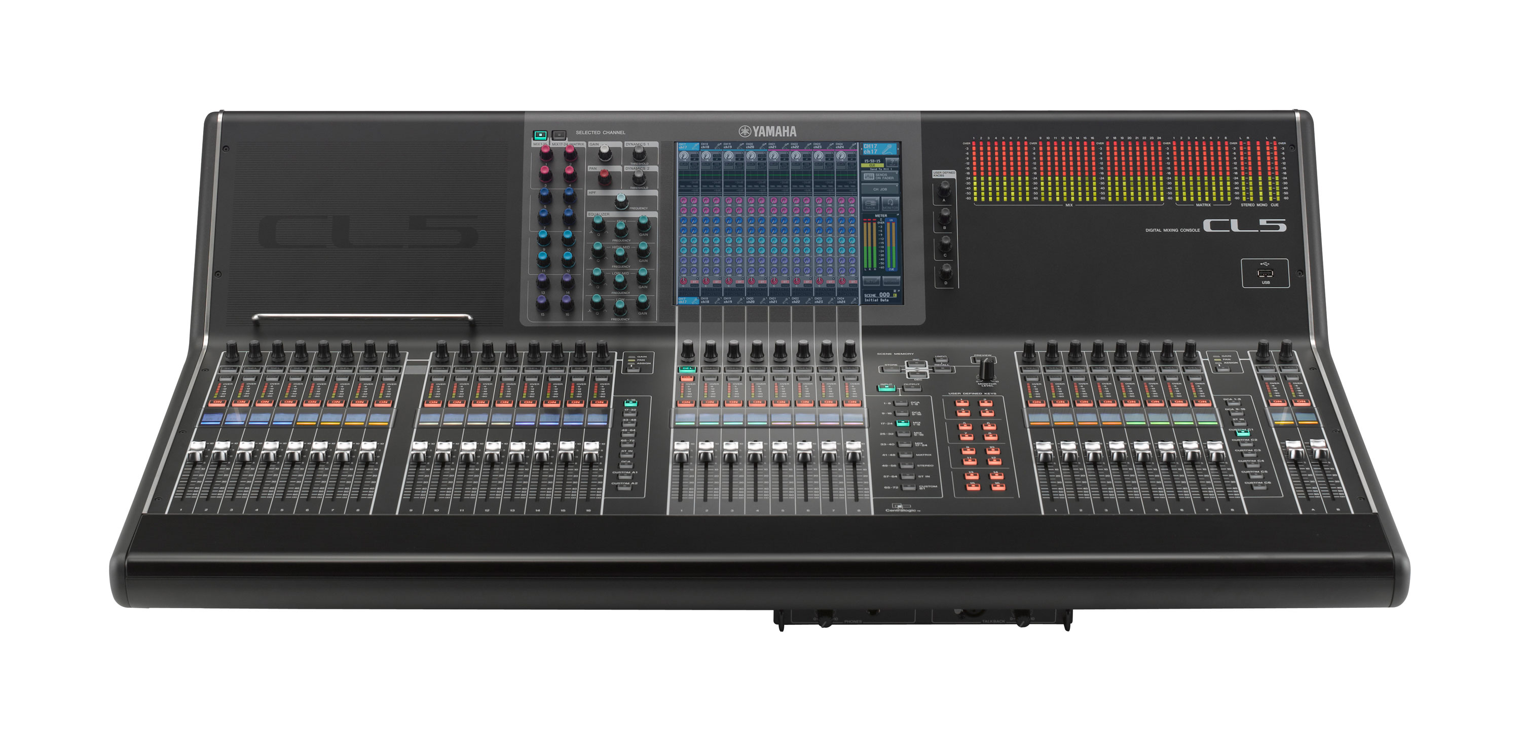 Yamaha CL5 Digital Audio Service