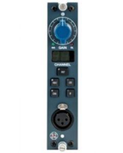 AMS Neve 1081R Mono Mic Pre module (blue)
