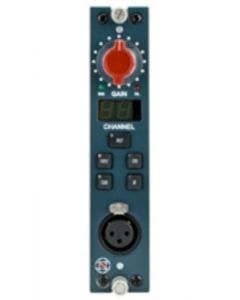 AMS Neve 1081R Mono Mic Pre Module (Red)