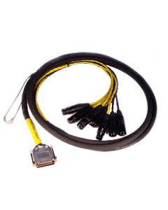 AVID ( Digidesign ) DB25-XLR M+F AES/EBU DigiSnake 12'