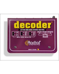 Radial Decoder Angle