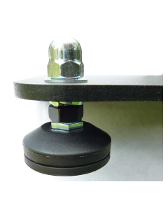 Towersonic A-R-F Acoustic Rigid Feet + rubber non - slip bases