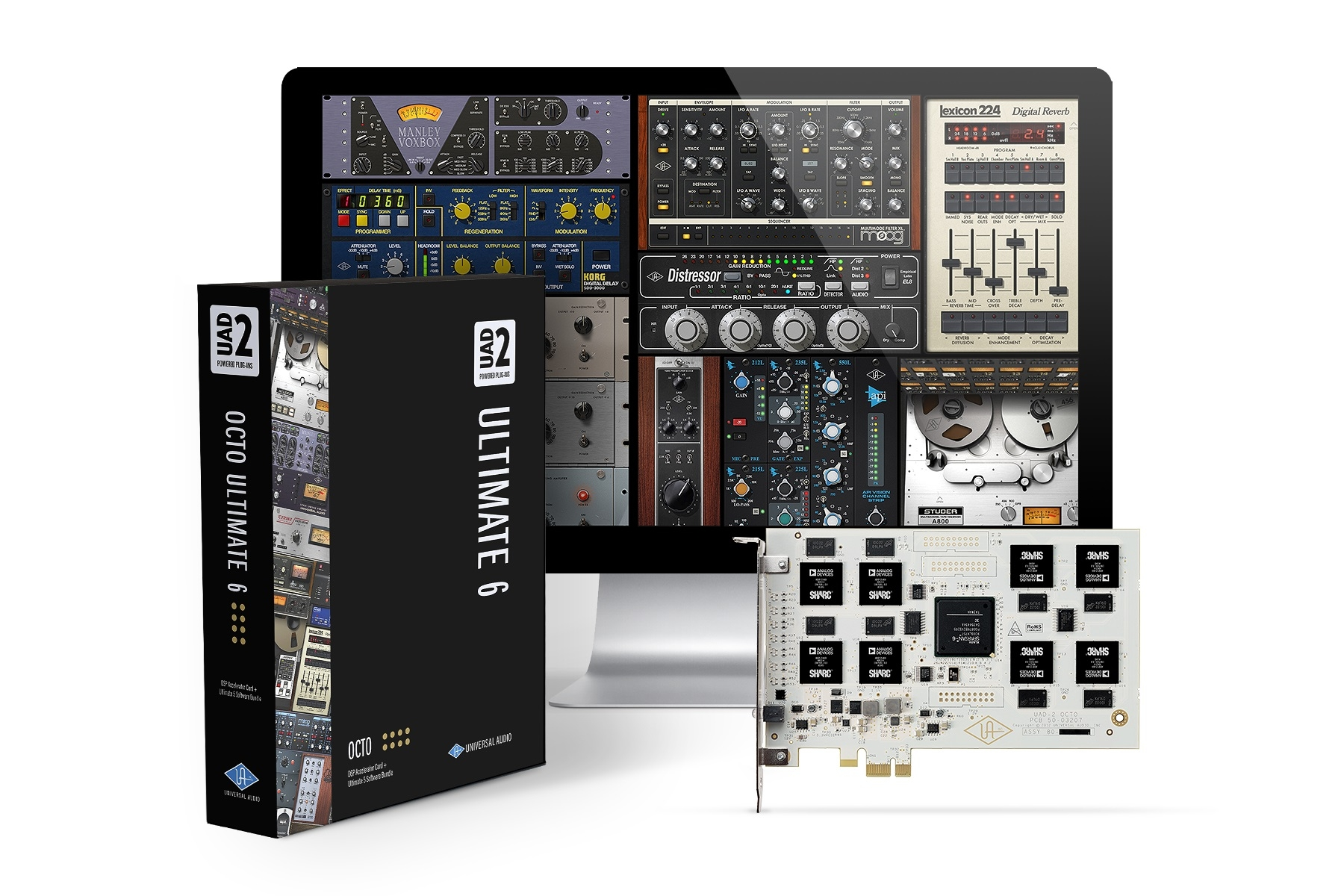 Universal Audio UAD-2 OCTO Ultimate 6 DSP Accelerator Card