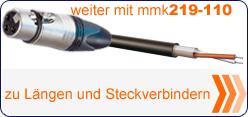 MMK 219 Steckverbinderauswahl