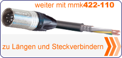 MMK 422 Steckverbinderauswahl